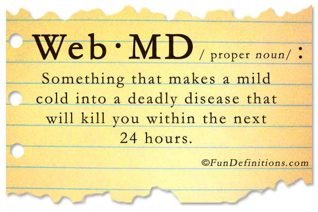 Funny-definitions-web-md