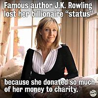 jk-rowling-donates-most-of-her-money-to-charity-and-lost-her-billionaire-status