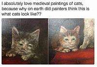 midevil-cat-paintings