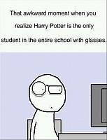 funny-harry-potter-harry-potter-is-the-only-one-wearing-glasses