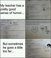 a-funny-test-answers-scores